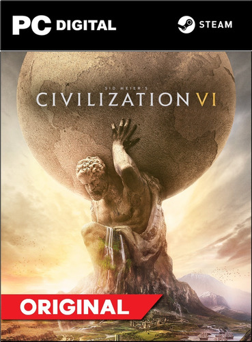 Civilization 6 Vi Pc Español + Online Steam Original
