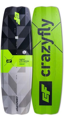 Tabla Crazyfly Raptor Ltd Neon -kitesurf- Freeride/freestyle