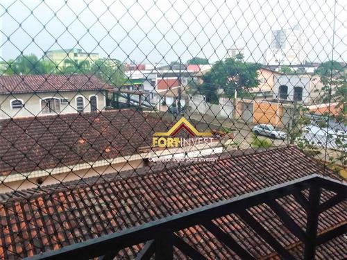 Apartamento Com 2 Dormitórios À Venda, 80 M² Por R$ 180.000,00 - Vila Guilhermina - Praia Grande/sp - Ap1389