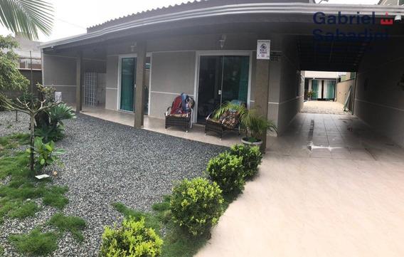 Excelente Casa No Balneário Príncipe - Ca0016