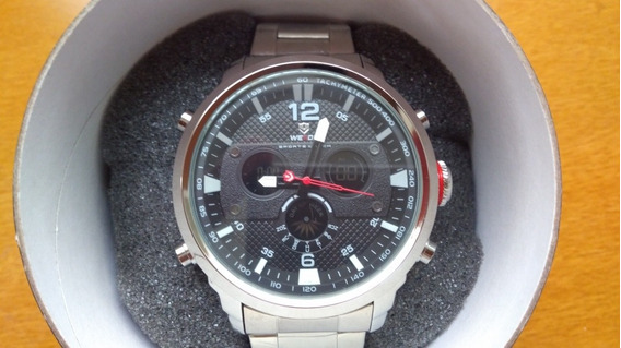 Relógio Masculino Prata Titanium