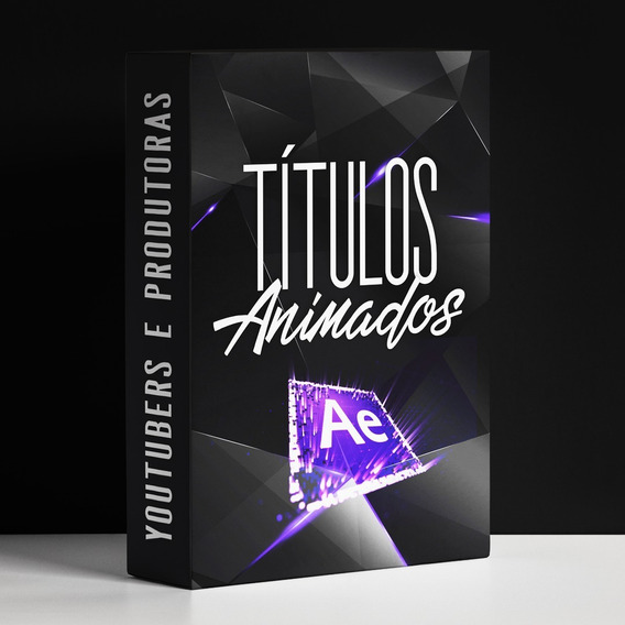 Pacote After Effects Textos Animados Para Youtubers