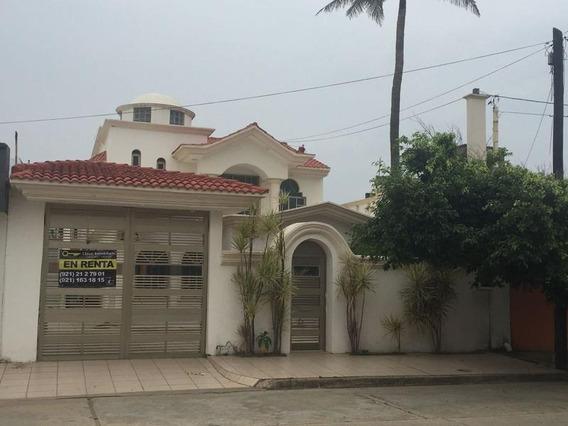 Renta De Bonita Casa En Francisco. Tellez, Col. Playa Sol