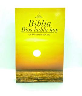 Biblia Económica 1m Dios Habla Hoy Con Deuterocanónico X 24