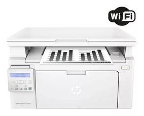 Impressora Hp Laserjet Pro Mfp M130nw Multifuncional 110v
