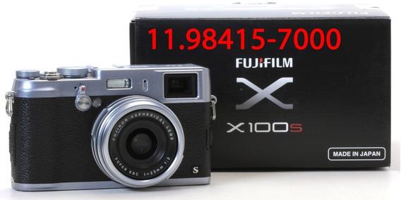 Fuji X100s - Quase Sem Uso - Poucos Disparos