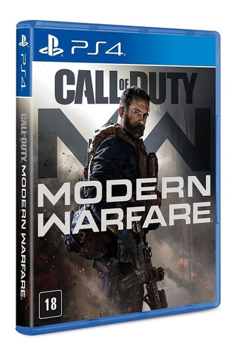 Jogo Call Of Duty Modern Warfare - Ps4 Mídia Física