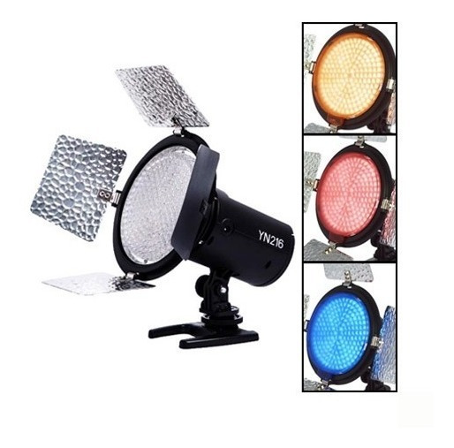 Lampara Yongnuo Yn216 Led Bicolor Para Foto Y Video