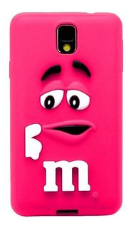 Samsung Galaxy S5 Case Funda Goma Silicon Protección M&m