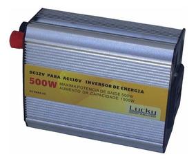 Kit 2 Inversor De Voltagem Veicular 12v Para 110v 500w