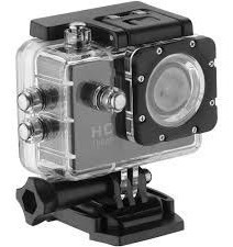 Action Cam Sports Tipo Go Pro Hd 1080p Prova Da Agua