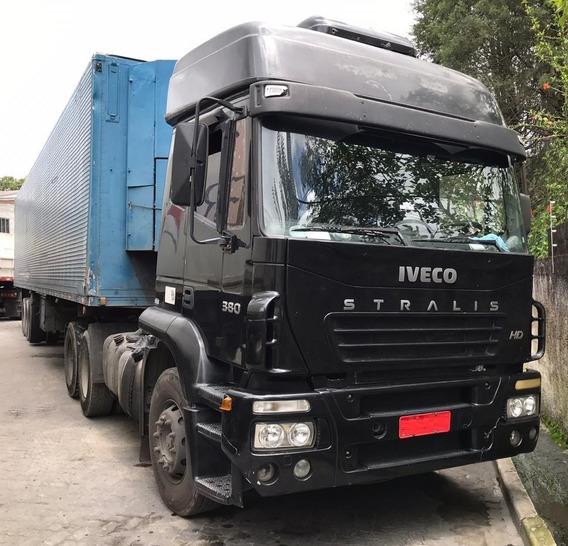 Iveco Stralis 380 - 6x2 - 2006 - Teto Alto - Manual