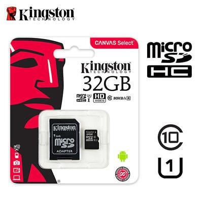 Cartão Memória Kingston 32gb Micro Sdhc Cl 10 Orig. 80mb/s