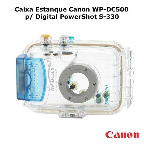 Caixa Estanque Canon Wp-dc500 P/ Digital Powershot S-330