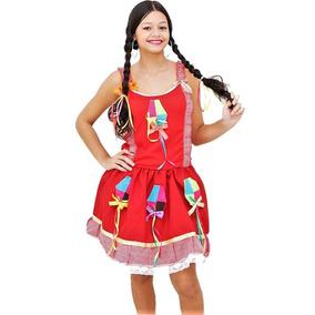 Vestido De Festa Junina Adulto Vários Modelos E Tamanhos