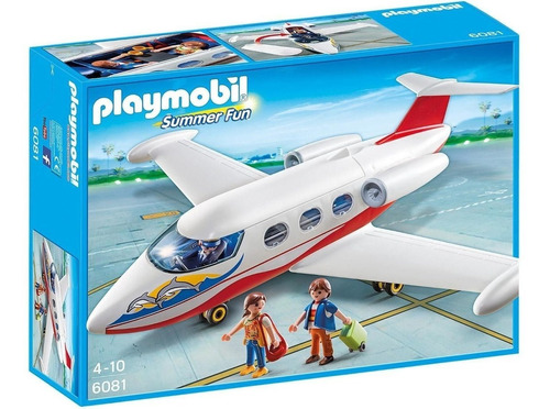 Playmobil 6081 Summer Fun Avion Jet Original - Intek