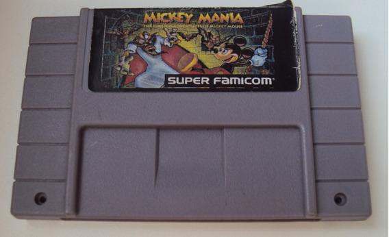 Mickey Mania Para Super Nintendo