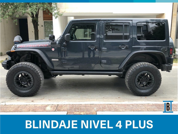 Jeep Wrangler Rubicon 4x4 2018 Blindada Nivel 4 Plus Armatec