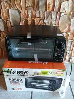 Horno Tostador 10 Lts.home Collection, 230°c.nuevo En Caja.