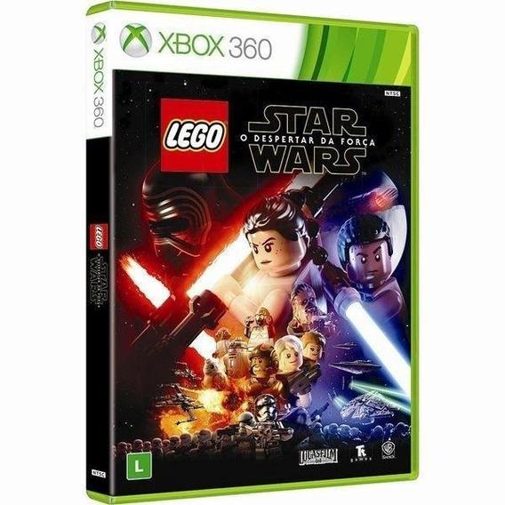 Lego Star Wars Despertar Da Força Xbox 360 Mídia Física Novo