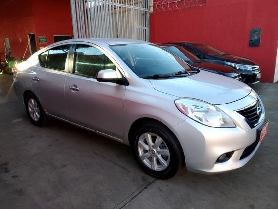 Nissan Versa Sl 1.6 2012/2013 Prata