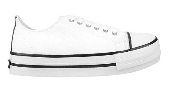 Zapatillas Topper Paris Blancas De Mujer