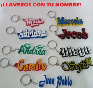 ¡llaveros Personalizables Con Nombre Frase O Logo Favorito!