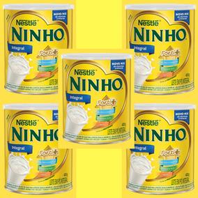 Ninho Leite Em Pó Lata 400g Nestlé - Kit Com 5