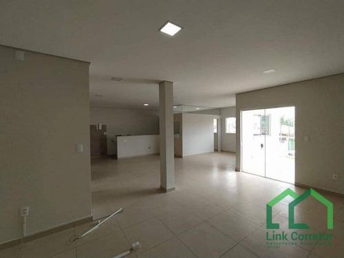 Sala Para Alugar, 90 M² Por R$ 2.800,00/mês - Jardim Myrian Moreira Da Costa - Campinas/sp - Sa0112