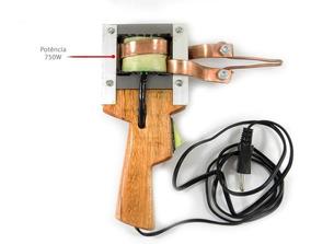 Ferro Solda Pistola Estanho Profissional 750w 127v