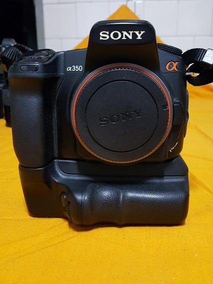 Câmera Profissional Sony Alpha Dslr A350 14.2 Mp