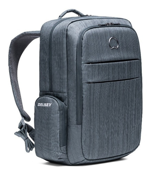 Mochila Delsey Clair Porta Notebook Tablet Anti R-fid Scan
