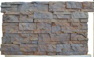 1 Molde Pared Plastico Abs Fachada Tipo Piedra Concreto