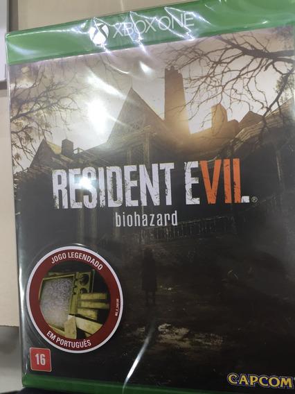 Resident Evil Biohazard Xbox One Mídia Física