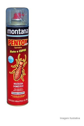 Anti Cupim E Brocas Base Agua Pentox Spray 400ml Montana