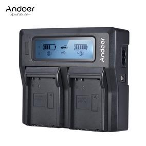 Carregador Andoer Lp -e6 Lp -e6n Dual Ue Color6