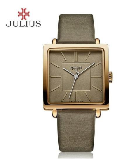 Relógio Julius Jl10 Brown Prova D