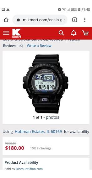 Relógio G Shock Xgb6900b-1