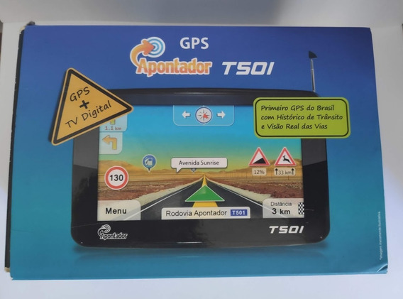 Navegador Gps 5 C/tv T501 Apontador