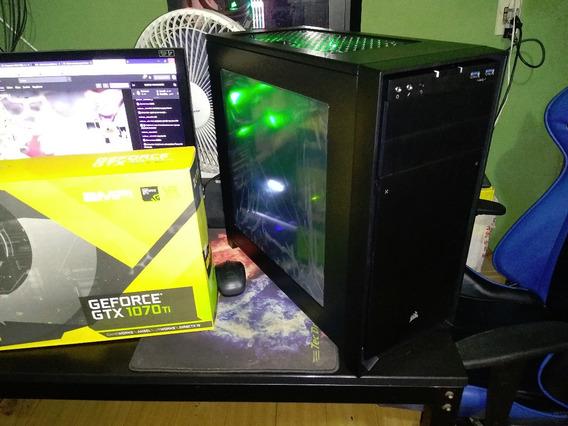 Pc Gamer I5 9500 + Gtx 1070 Ti + 16gb Ddr4