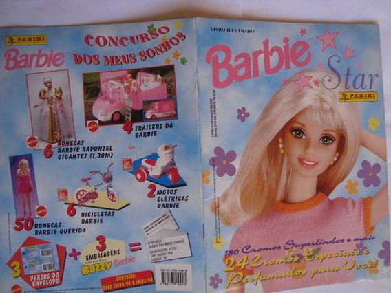 Álbum Barbie Star Panini 1998 Completo Ótimo
