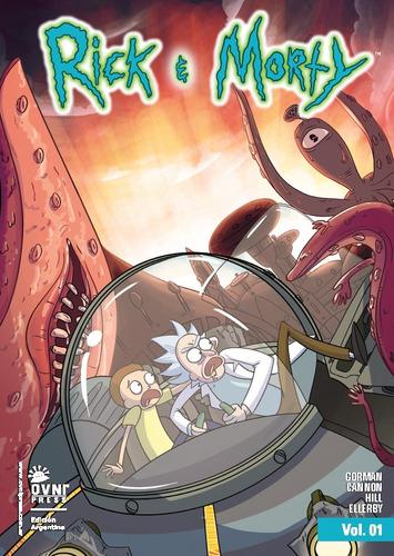 Imagen 1 de 8 de Cómic, Cartoon, Rick And Morty Vol. 1. Ovni Press
