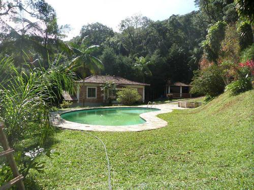 Imagem 1 de 14 de Chácara Com 3 Dorms, Itaquaciara, Itapecerica Da Serra - R$ 850.000,00, 0m² - Codigo: 1254 - V1254