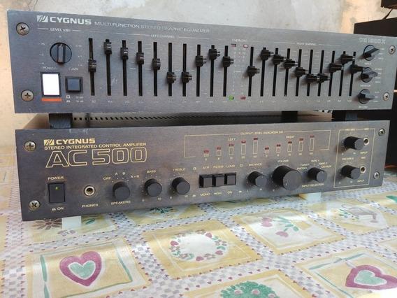 Amplificador Ac500 Cygnus Gradiente Cce Polyvox Sony