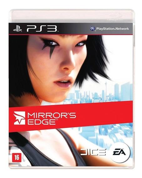 Jogo Mirrors Edge Ps3 Original Midia Fisical Novo Lacrado