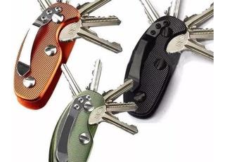 Organizador De Llaves Smart Key, Aluminio, Colores.