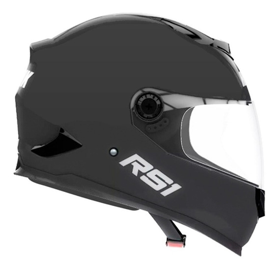 Casco Hawk Rs1 Integral Negro Brillo O Mate 2020 - Fas Motos