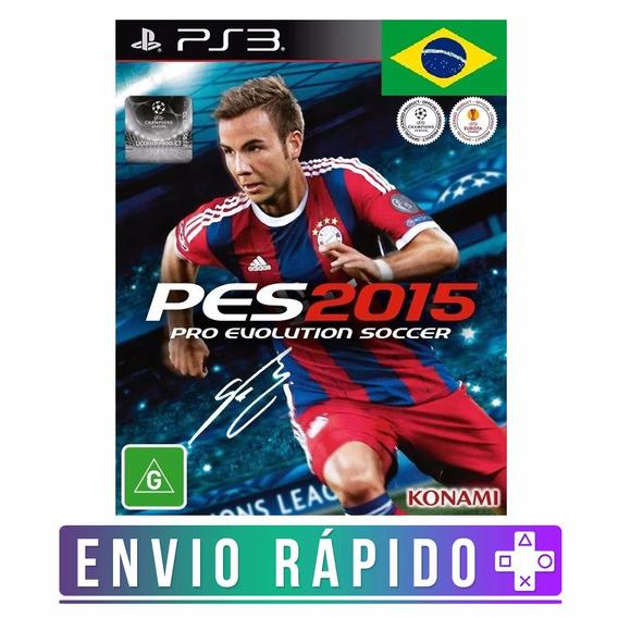 Pro Evolution Soccer 2015 Pes 15 Ps3 Código Psn
