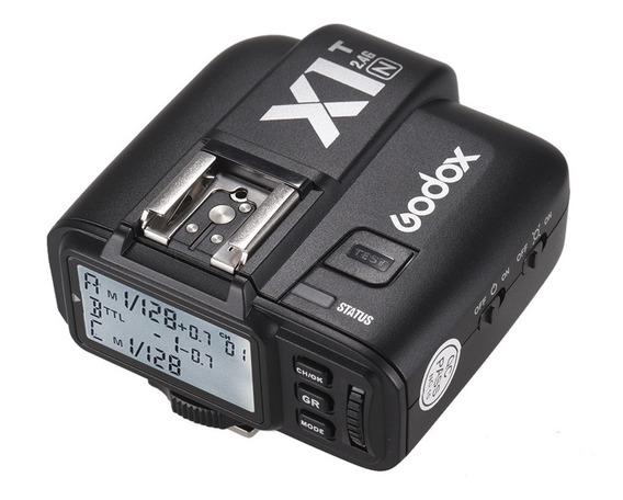 Transmissor De Disparador De Flash Sem Fio De 2.4g Godox