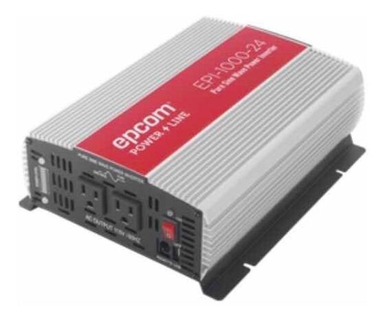 Inversor Epcom De Corriente Onda Pura 1000w Entrada 24 Vcd